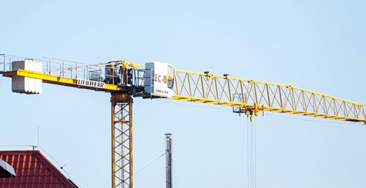 Заказ башенных кранов Либхер в Украине